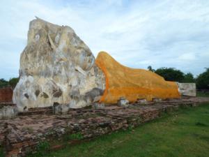 Bouddha couché d'Ayuthaya