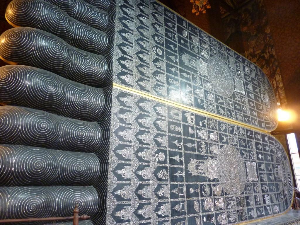 Pieds bouddha couché du Wat Pho