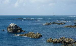 Phare de la Jument près de l'Ile de ouessant
