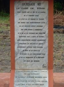 stèle de la case de zomai