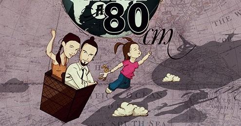 le tour du monde à 80 cm