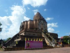 temple wat chedi luang à chiang mai