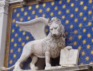 Le lion ailé, emblème de Venise