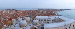 Vue sur Venise depuis le campanile de San Marco