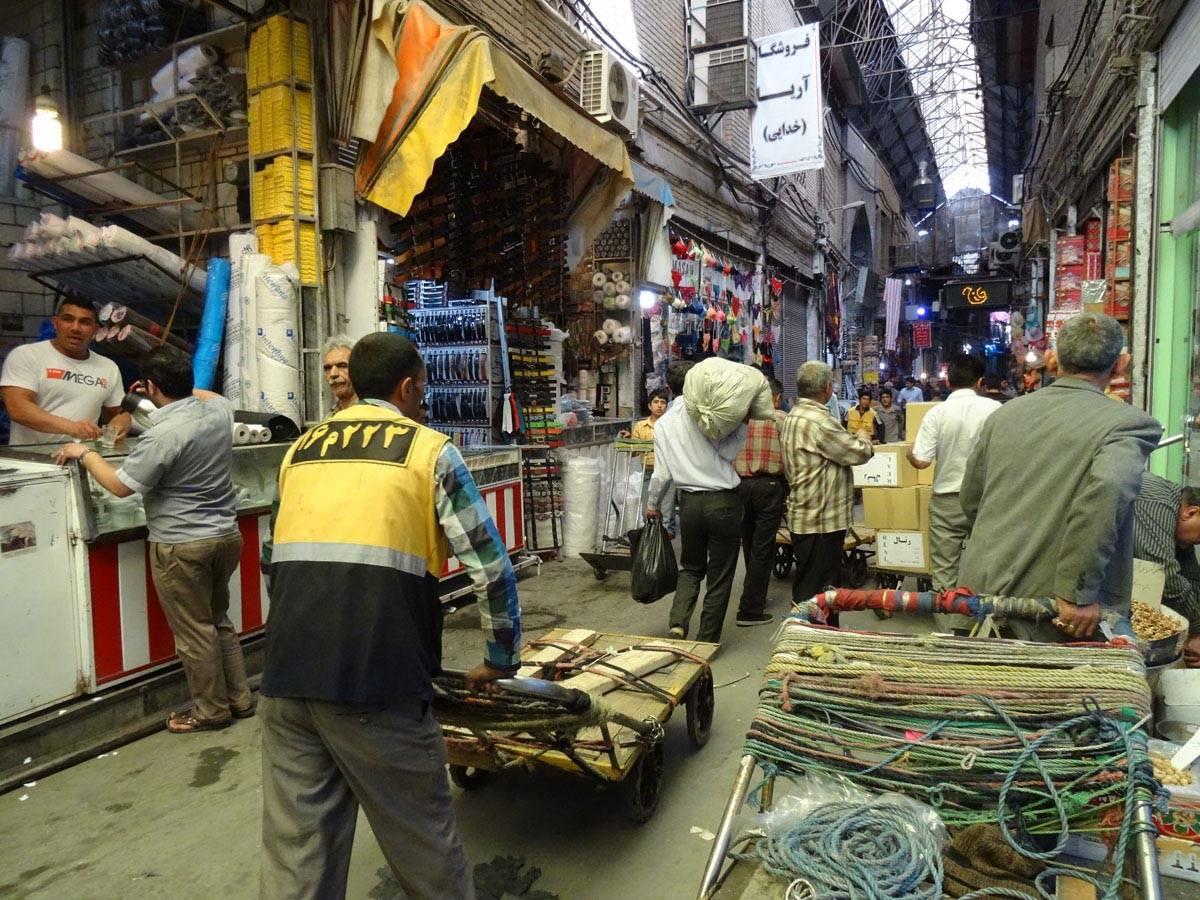 Le bazar de Téhéran, une ville dans la ville