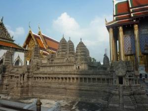maquette d'Angkor Vat