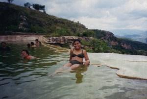 Hierve el Agua - bassin