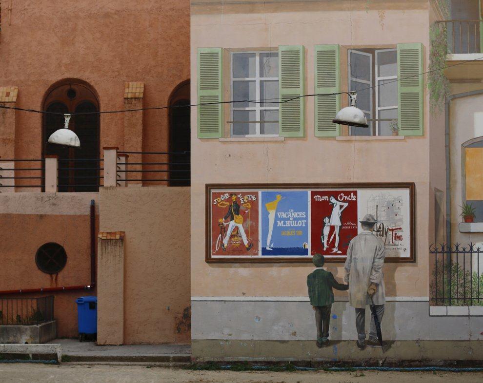 street art et cinema à canne