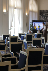 Visite de l'hotel intercontinental Carlton à Cannes