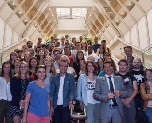 blogueurs voyages pendant le salon - ©Kevin SB/ kevinsb.fr