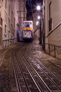 funiculaire à Lisbonne