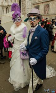 cortège historique au carnaval de Venise