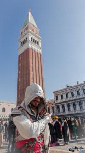 Ezio Auditore au carnaval de Venise 2015