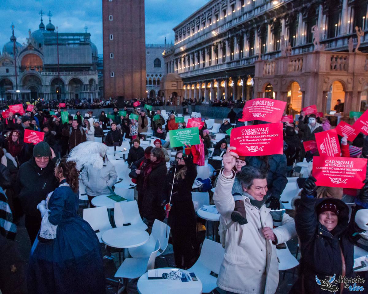 Concours de déguisements au carnaval de Venise 2015