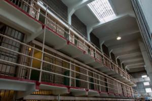 Un couloir d'Alcatraz