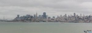 Vue sur San Franciso depuis Alcatraz