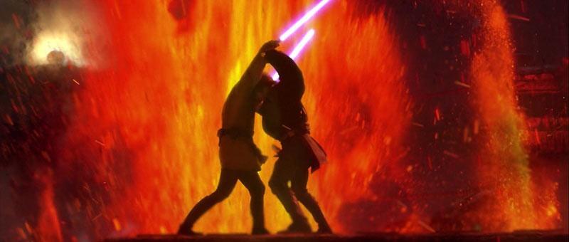 Anakin contre Obi Wan
