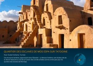 quartier des esclaves de Mos Espa sur Tatooine