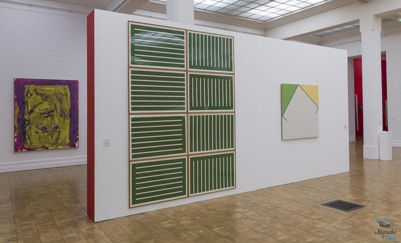 galerie du MUba Eugène Leroy