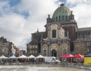 marché à Charleroi