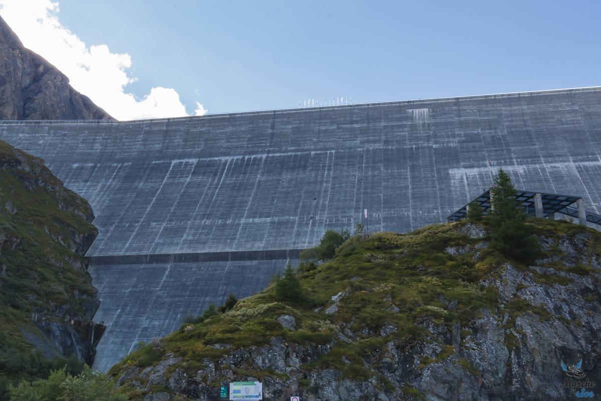 barrage de la grande dixence au val d'hérens