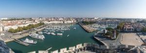 Vieux port depuis la tour Saint Nicolas