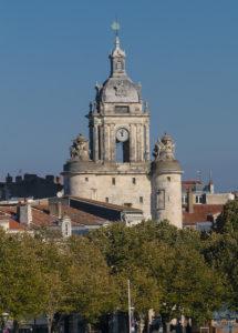 Tour de l'Horloge vue depuis la tour Saint Nicolas