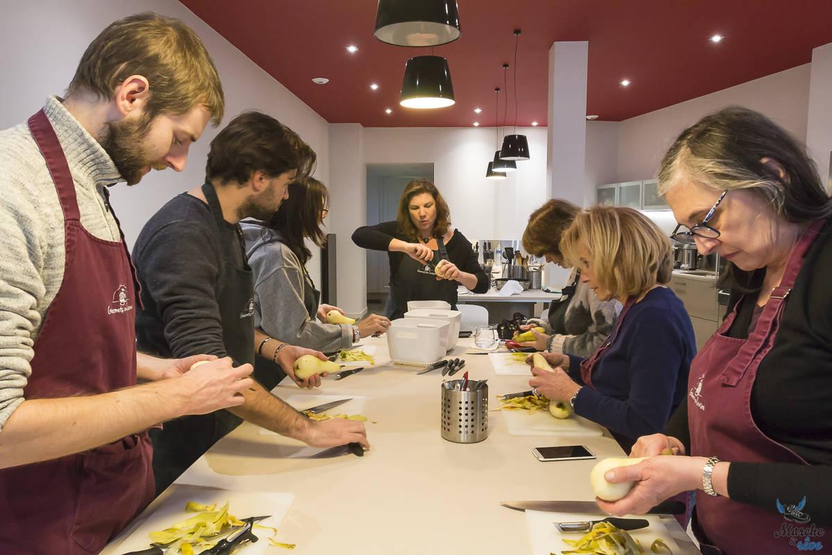 """atelier """"les gourmets en cuisine"""""""