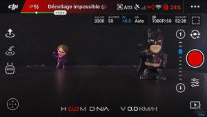 capture ecran dji GO4