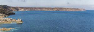 vue sur le cap frehel depuis le fort La Latte