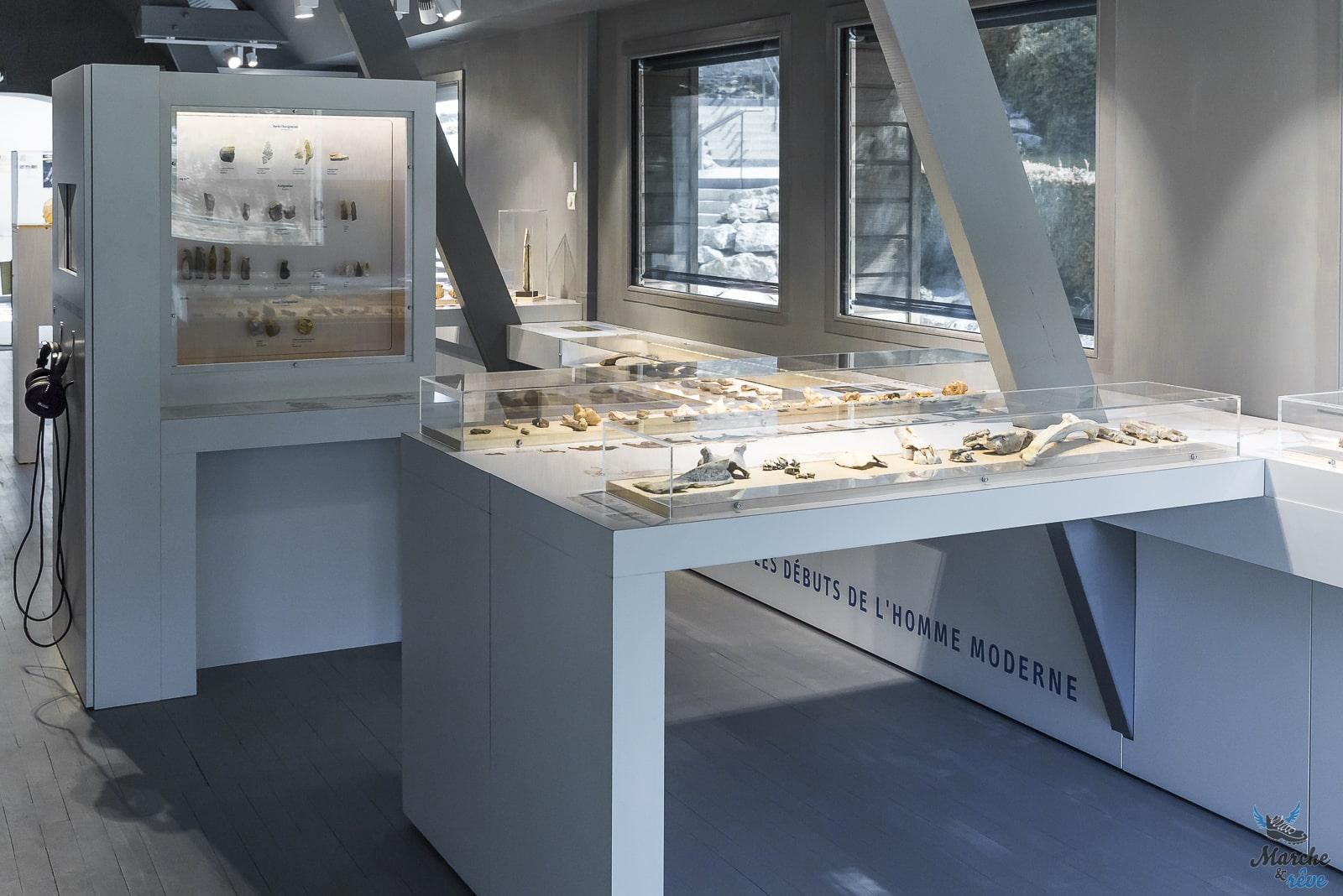 Musée de la préhistoire, vallée de Saulges