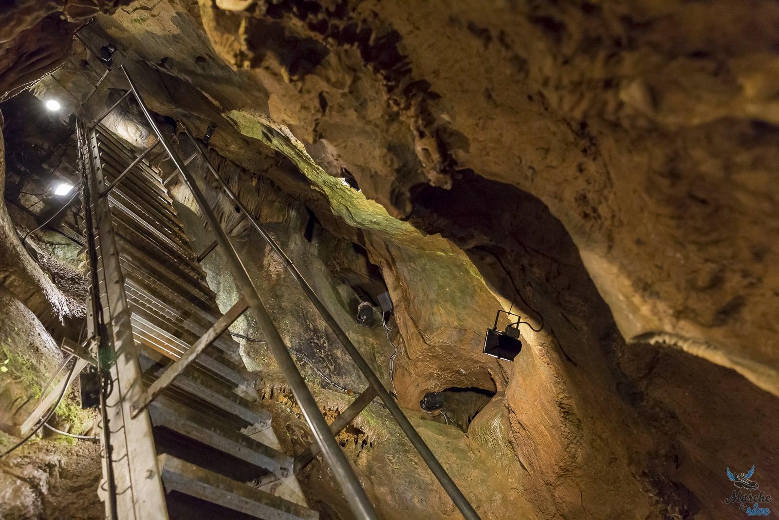 Visite de la grotte Rochefort