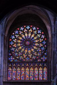 Vitrail cathédrale Saint Vincent Saint Malo