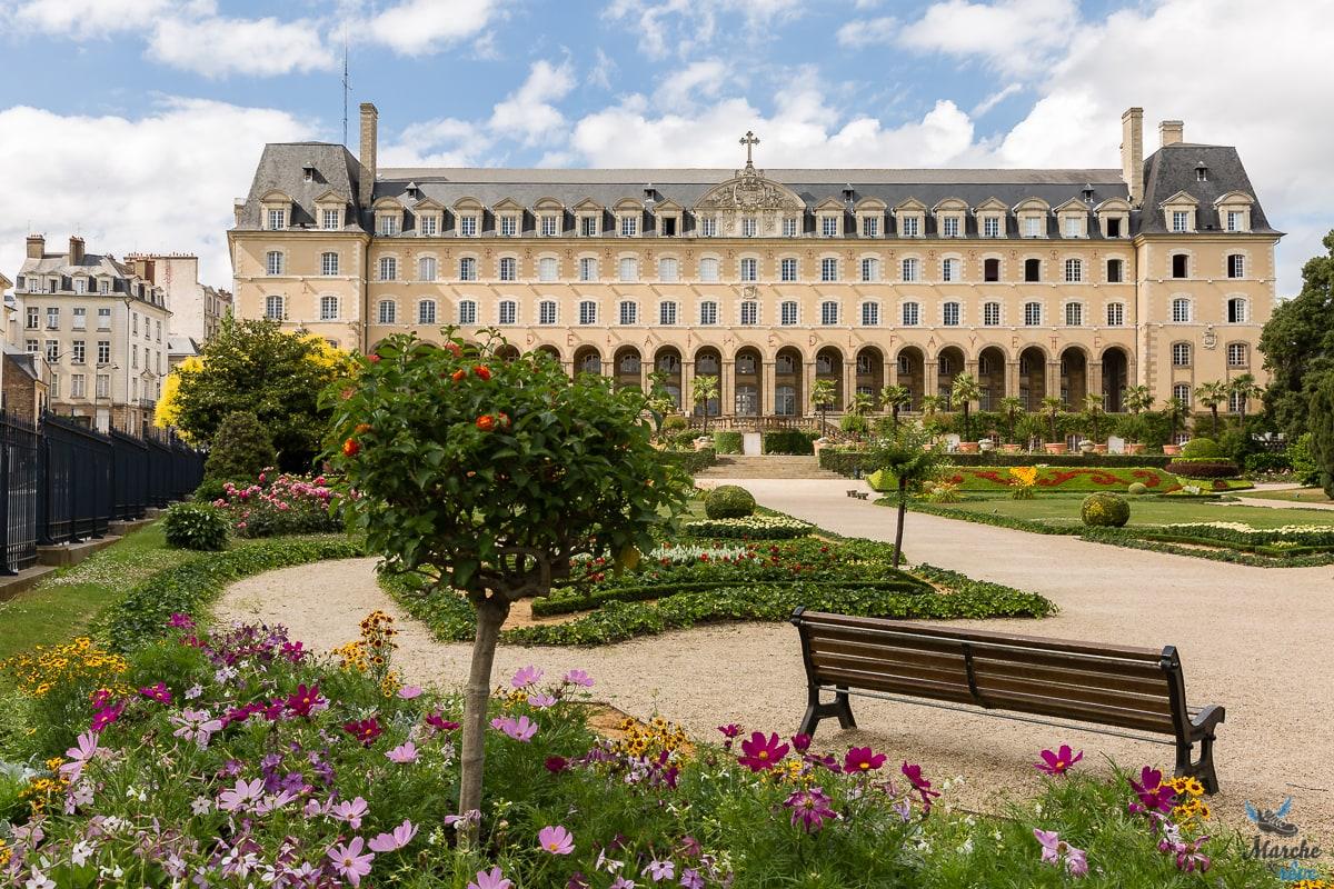 Jardin Saint Georges à Rennes
