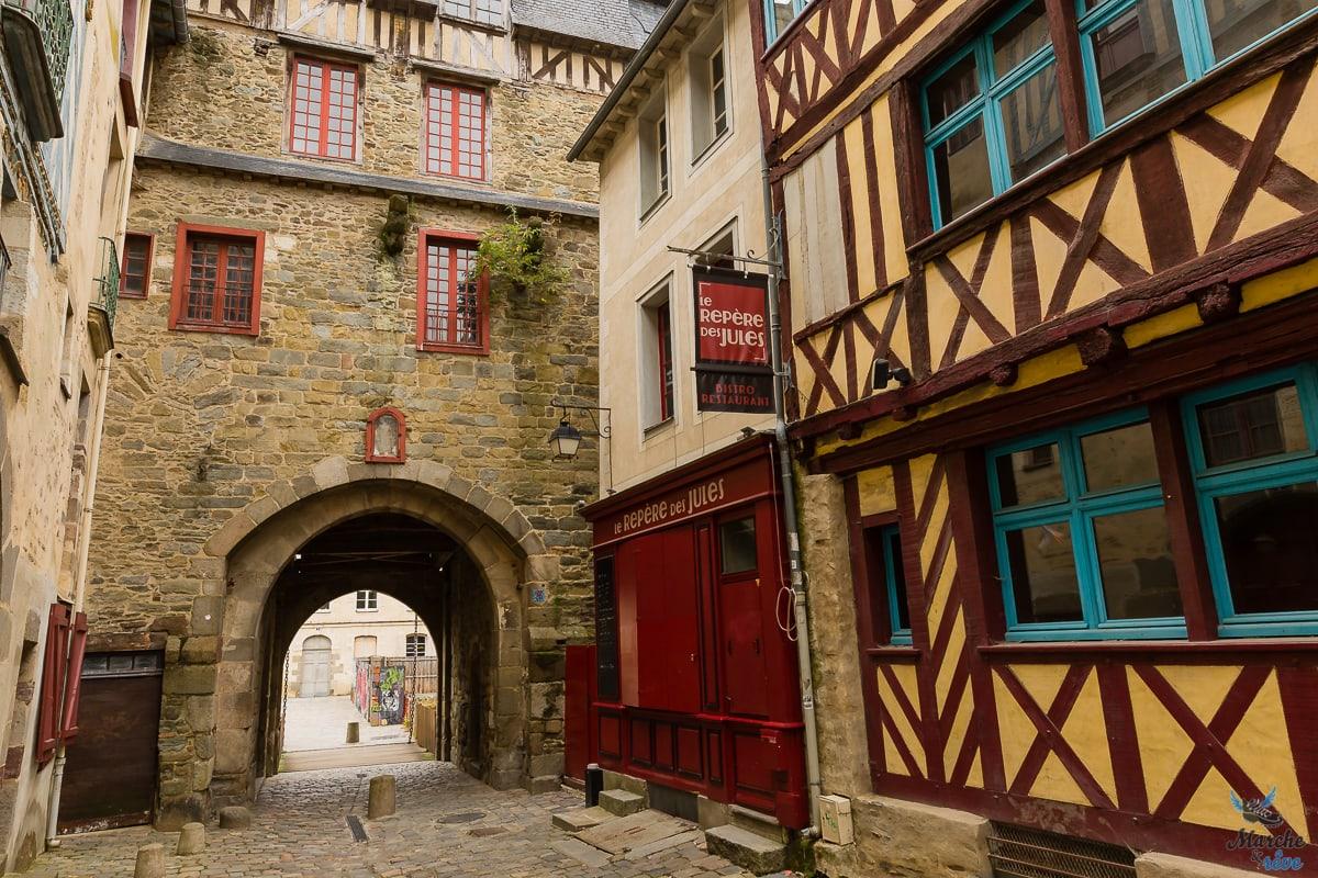 ruelles de Rennes