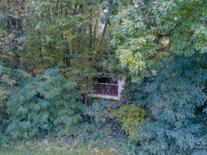 Cabane aux secrets au lac du Der