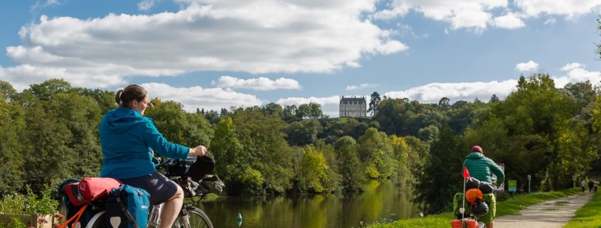 de laval à Château-Gontier sur le Vélo Francette