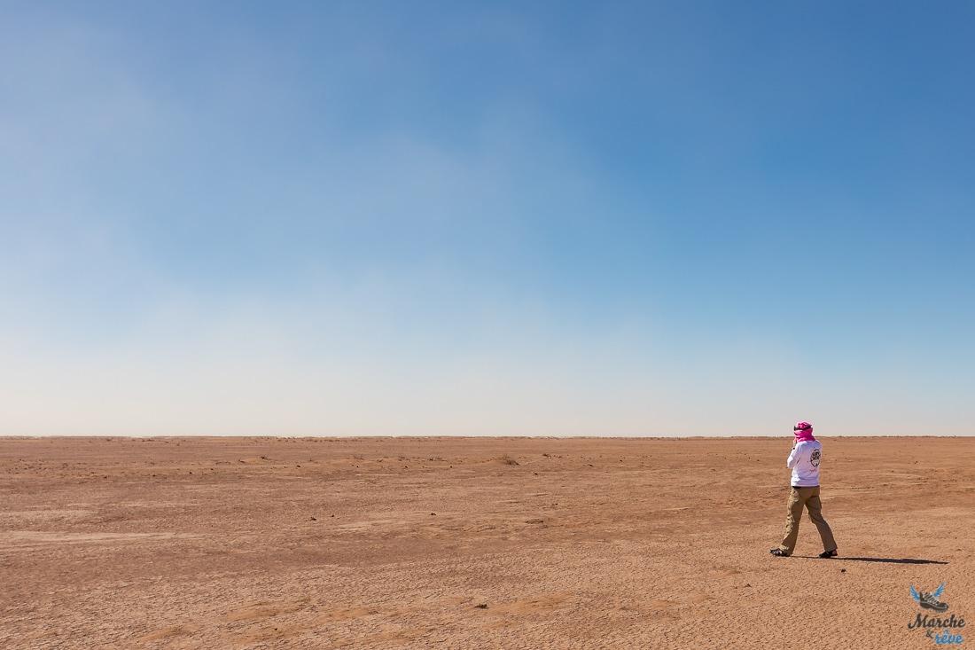 Trek desert hamada