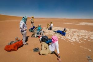 Trek désert