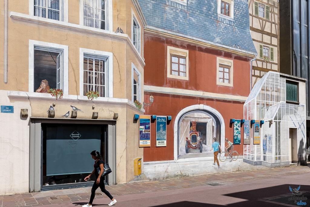 Murs peints à Mulhouse
