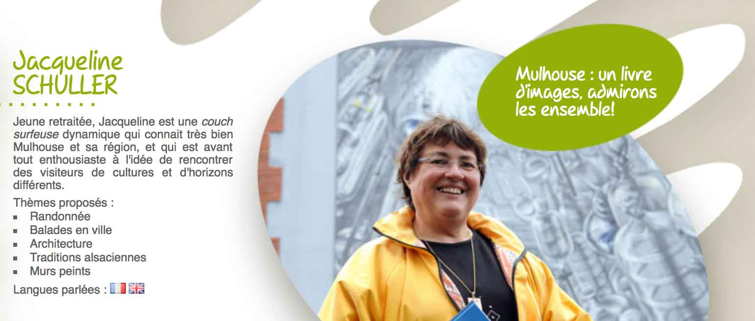 Jacqueline Schuller Greeter Mulhouse